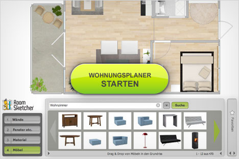 wohnung planen online everyday feng shui. Black Bedroom Furniture Sets. Home Design Ideas