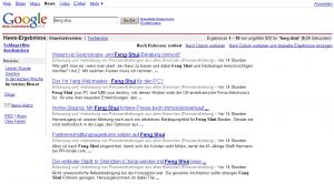Everyday Feng Shui News bei Google News