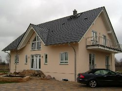 Neubau in der Stauffenbergallee (Feng Shui Siedlung Rangsdorf)