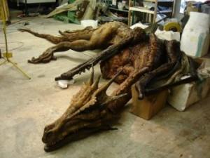 Das Anshun Drachen-Fossil