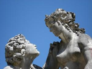 Liebespaar Skulptur
