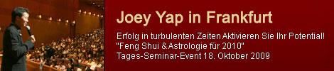 konferenz mit joey yap am 18 oktober in frankfurt main. Black Bedroom Furniture Sets. Home Design Ideas