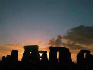 Stonehenge zur Wintersonnenwende