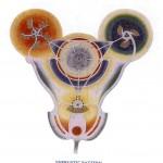 Energetisches Muster als Gestaltungsgrundlage der Aura Soma Zentrale Texas. Architekt: Georg Thurn-Valsassina