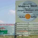 Infotafel Feng Shui Siedlung Massing West