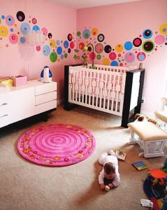Modern eingerichtetes Kinderzimmer (Foto: Chris Moseley)