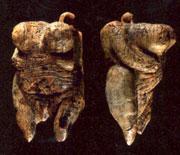 Göttinnen-Figurine aus der Hohle-Fels-Höhle