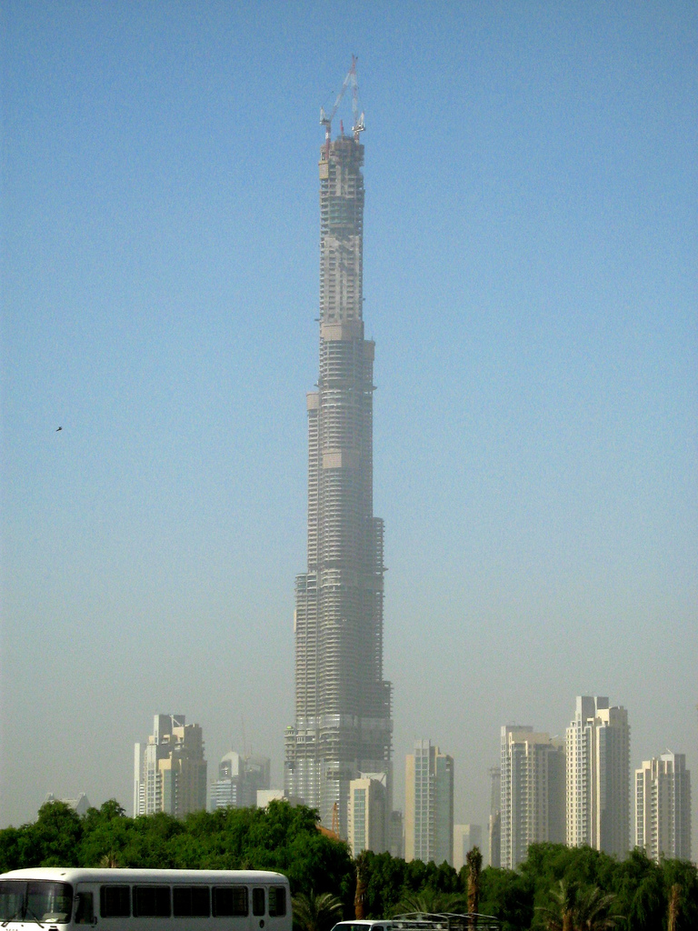 Der Burj Dubai: Was bitte schön soll das?
