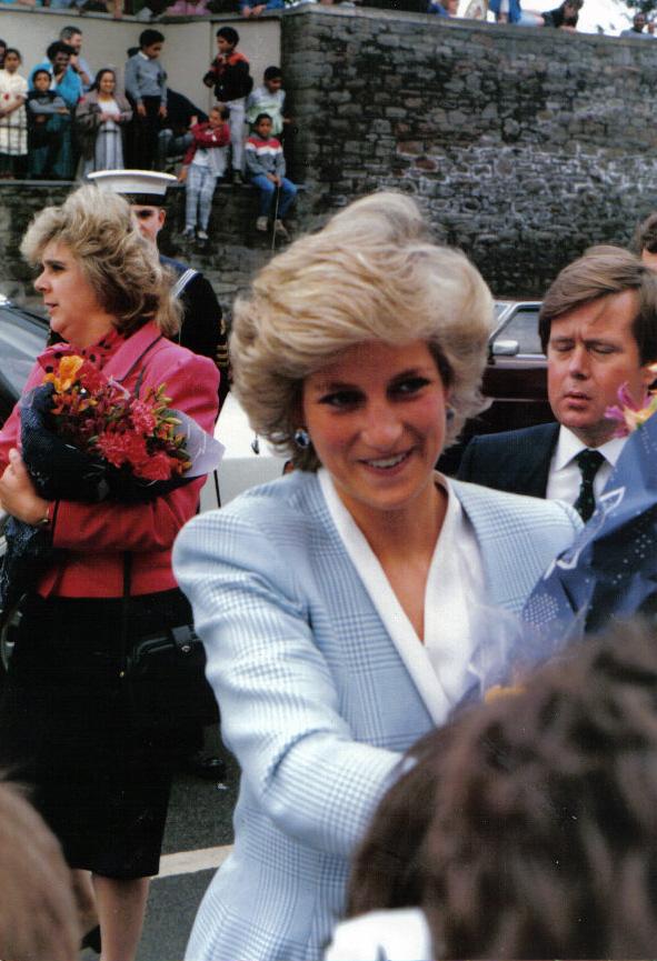 Prinzessin Diana 1987 (Foto: Floyd Nello)
