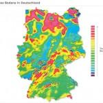 Magnetfeld des Bodens in Deutschland