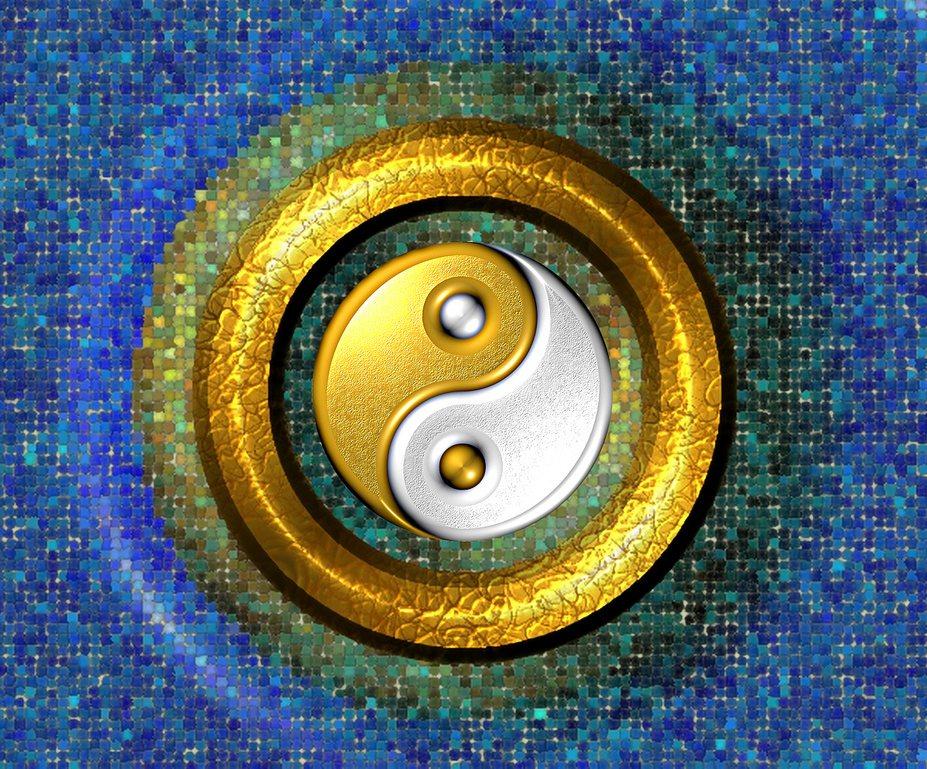 Yin und Yang - Gegensätze, die sich ergänzen.