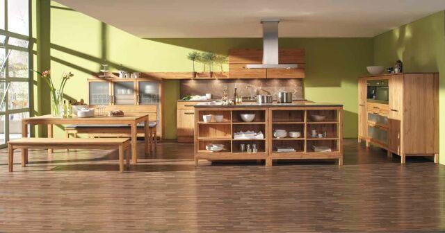 Massivholzküche gebraucht  Es geht auch ohne IKEA