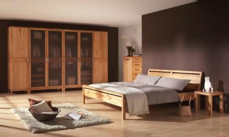 Eine harmonische Gestaltung des Interieurs ist im Schlafzimmer wie in keinem anderen Raum der Wohnung von entscheidender Bedeutung