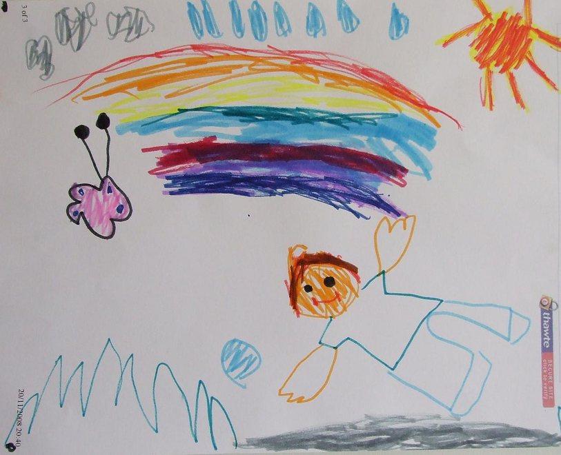 Entrümpeln: Kinderzeichungen und Fotos – 24.09.2010