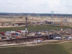 Flughafen BBI im Bau