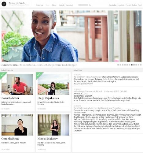 Einrichtungsblog Freunde von Freunden (freundevonfreunden.com)