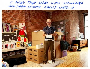 Michael Stipe in seinem New Yorker Apartment