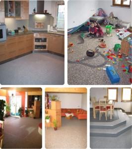 Mamorix Fußboden: Beispiele für den Wohnbereich