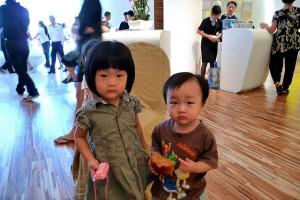 Chinesische Kids