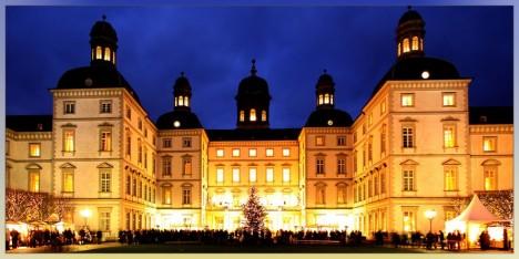 Innenhof des Grand Hotel Schloss Bensberg