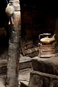 Küche in Tibet 2009
