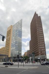 Architektonischer Fremdkörper in der Stadt: Berlin Potsdamer Platz