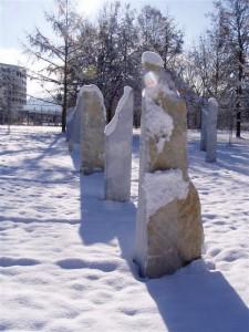 Geopunkturkreis im Europapark Klagenfurt