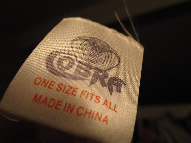 Gibt es nur in China: One Size Fits All