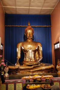 Buddha Statue in Chinatown Bangkok