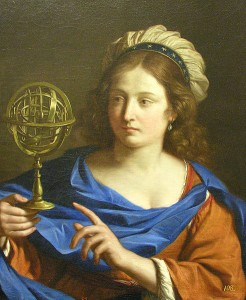 Guercino: Personification of Astrology (1650-55)
