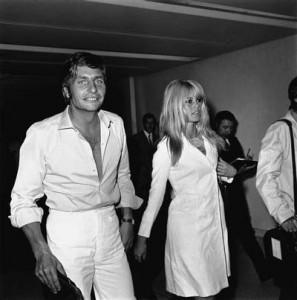 Society-Traumpaar der 60er Jahre: Brigitte Bardot und Gunter Sachs