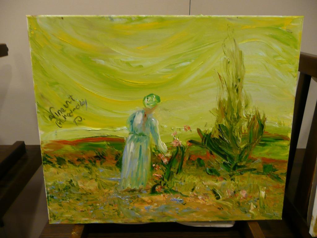 Ein echter Van Gogh? Nein, ein 10-Minuten-Medrado!