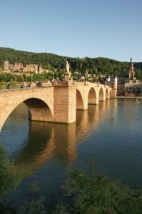Brücke über den Neckar in Heidelberg
