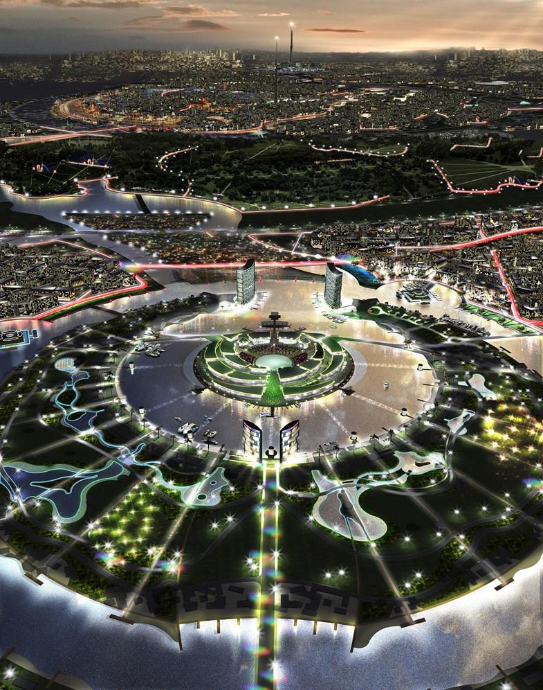 Die ideale Stadt: Raumplanung im 21. Jahrhundert