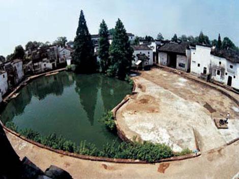 Zhuge Bagua: Ein chinesisches Dorf, vollständig gestaltet nach Feng Shui