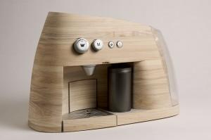 Espressomaschine aus Holz für mehr Harmonie in der Küche