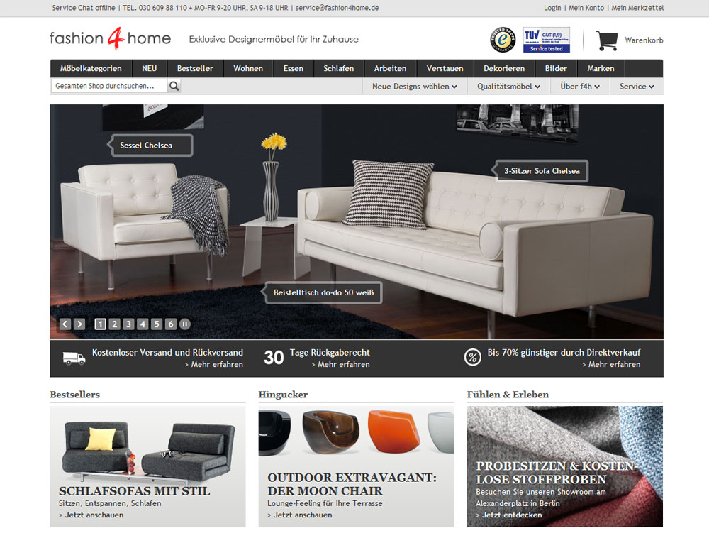 fashion4home mit feng shui den online shop gepimpt. Black Bedroom Furniture Sets. Home Design Ideas