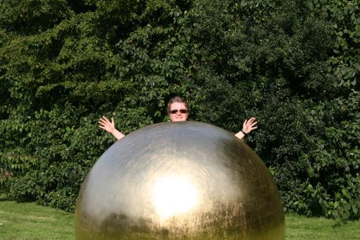 Füllige Menschen lieben oft kugelrunde Formen (Foto: cheesy42, Christine und David Schmitt)