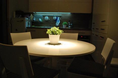 Gezielter Einsatz von Licht in der Küche