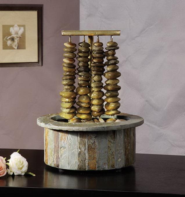 feng shui zimmerbrunnen aus der brunnenfabrik lichteblau. Black Bedroom Furniture Sets. Home Design Ideas