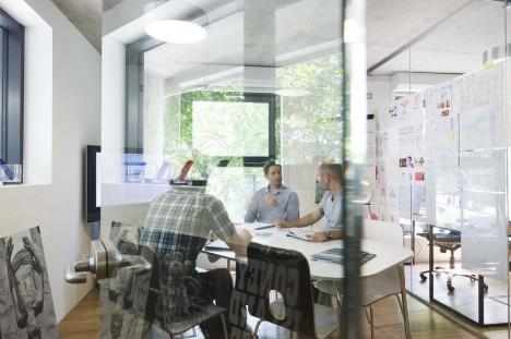 Büroräume werden als angenehm empfunden, wenn man sich damit identifizieren kann. (Foto: Dwonderwall, David Wall)