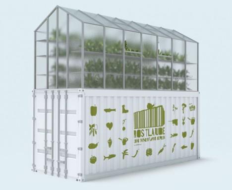Die Rostlaube: Containerfarm für urbane Landwirtschaft