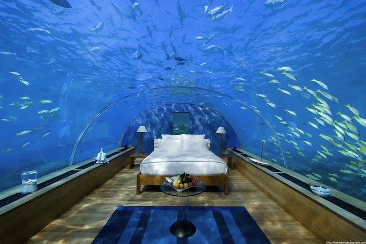 Unterwasser Schlafzimmer Spektakulare Missachtung Von Feng Shui