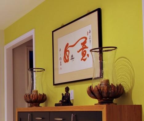 kueche buddhistischer stil3 468x393 Moderne Küche im buddhistischen Stil