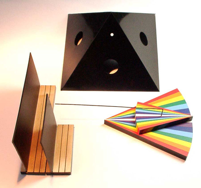 Radionisches Farbprojektor System