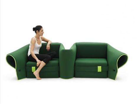 Multifunktionalität auf die Spitze getrieben: Sosia - das wandlungsfähigste Sofa der Welt