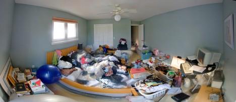 Unnötiger Ballast: In jeder Zimmerecke sammelt sich der Kram