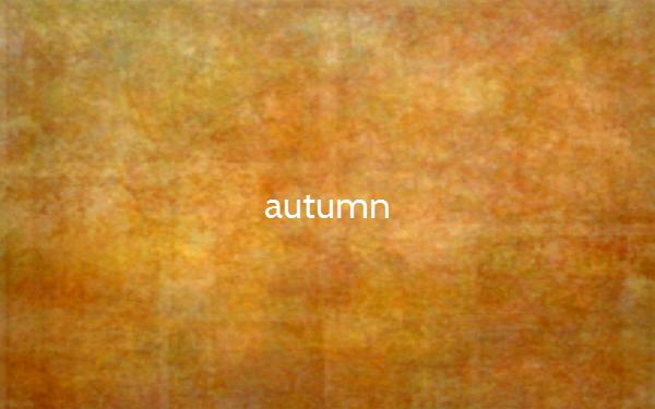 Die Farben im Herbst (Bildquelle: thecolorof.com)
