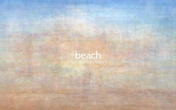 Die Farben am Meer bzw. Strand