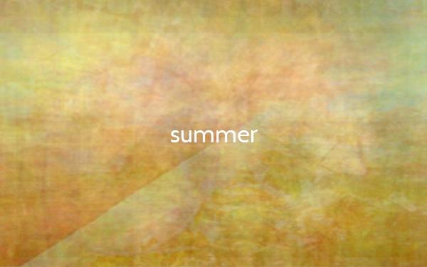Die Farben im Sommer (Bildquelle: thecolorof.com)